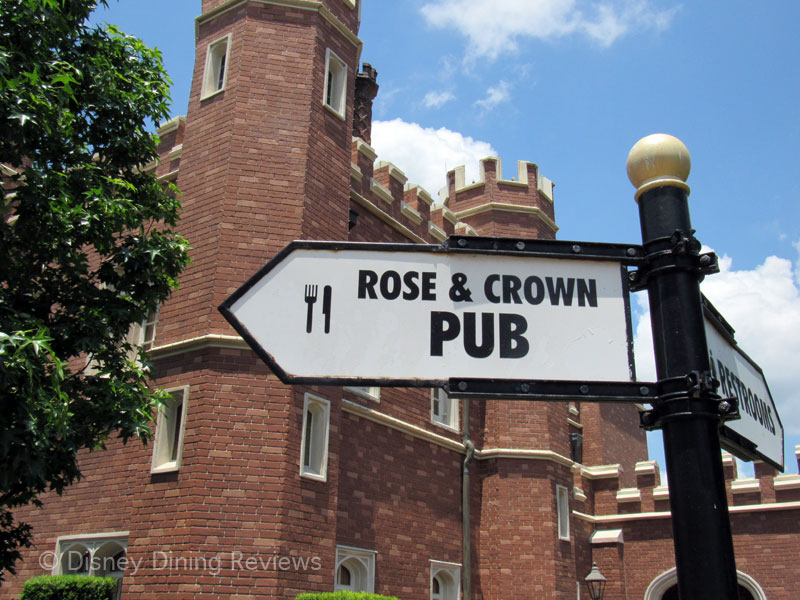 rose-and-crown-sign